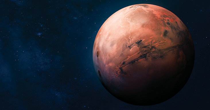 Short story: Pieces of Mars have fallen to Earth